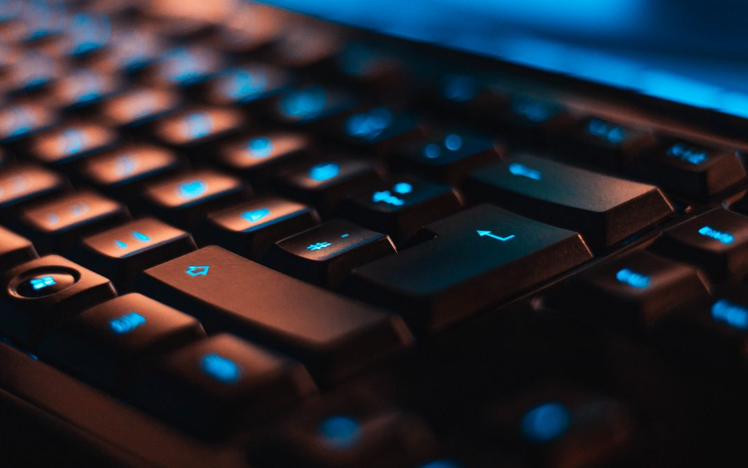 keyboard blue dynamic image